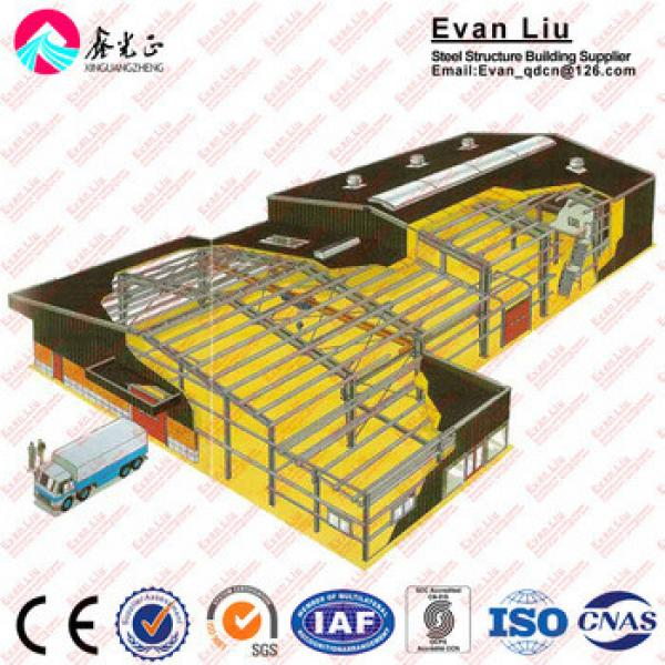design manufacture workshop warehouse steel structure building with CE Certification #1 image