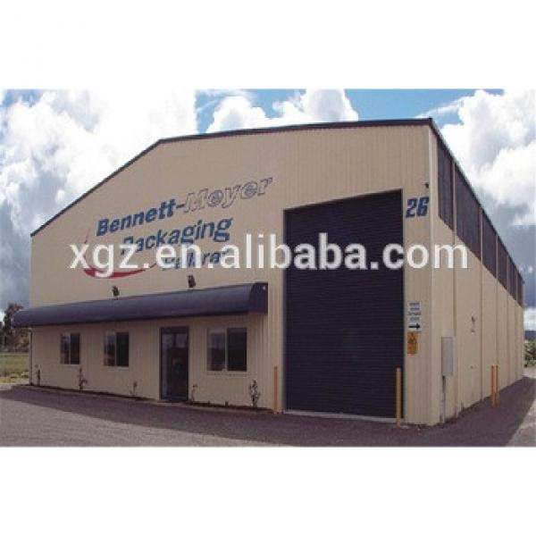 Prefabricated Low Cost High Quality Steel Structure Workshop #1 image