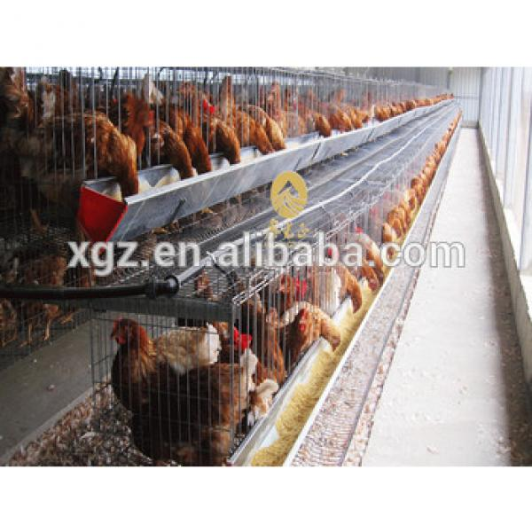 low cost egg poultry farm build chicken coop for laying hens in angola #1 image