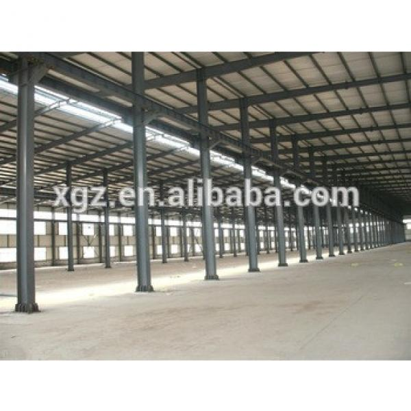 Prefabricated Light Steel Structure Workshop With Parapet Wall #1 image