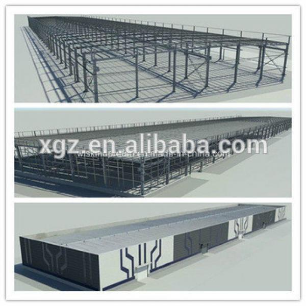 Cheap Price Large Span Warehouse Building Steel Structure #1 image
