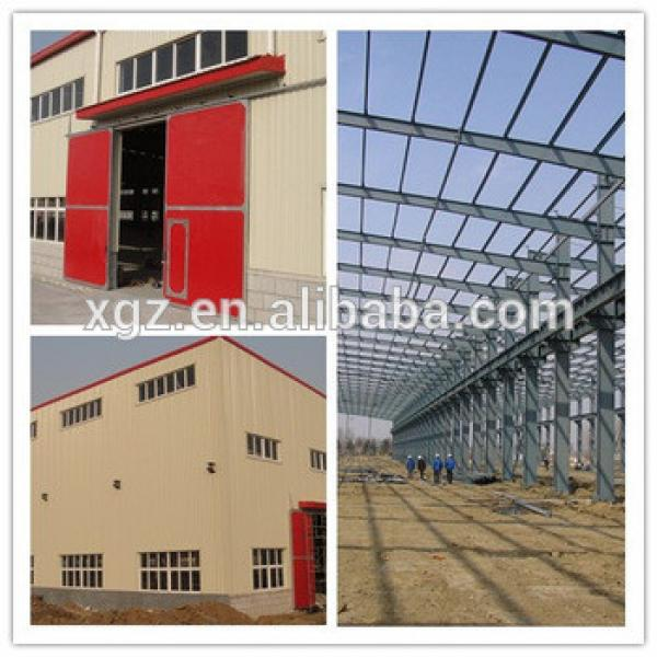 High Quality Steel Structure Workshop Warehouse Project Building #1 image