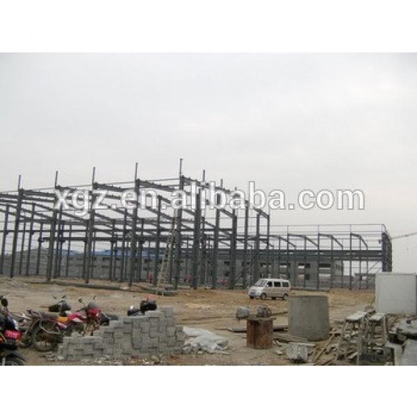 China manufacturer prefabricated two story steel structure building #1 image