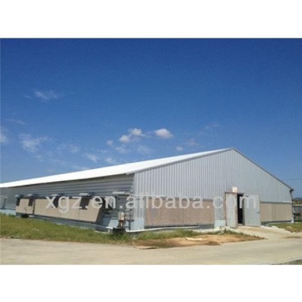 pre fabricated automatic poultry housing #1 image