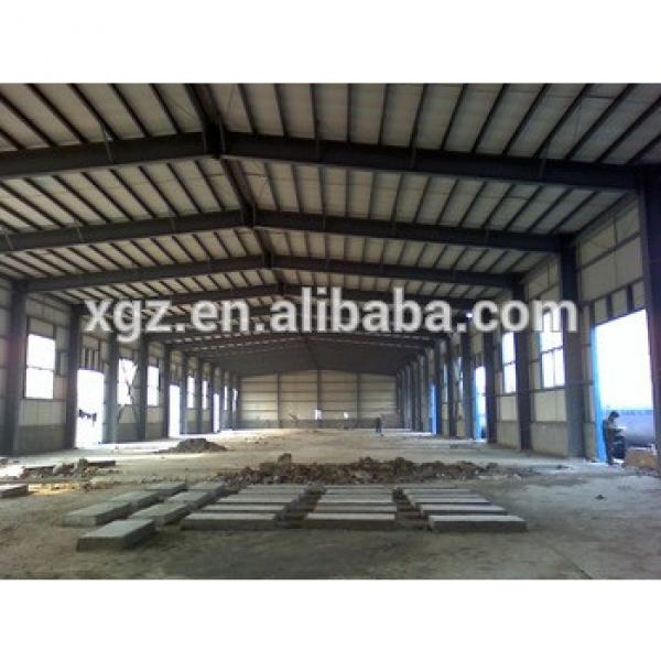 Light metal building prefabricated industrial steel structure building #1 image