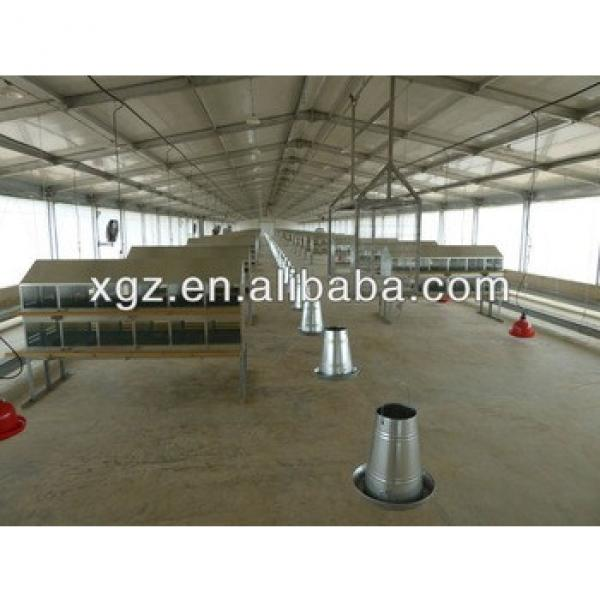 prefabricated automatic breeding chicken farm #1 image