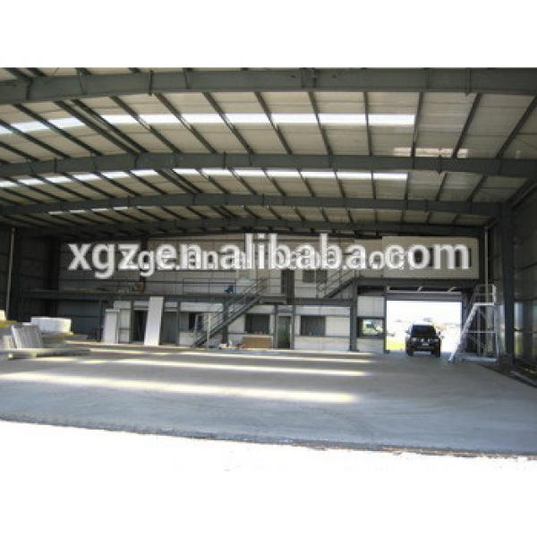 steel structure prefabricated warehouse for aircraft parts #1 image