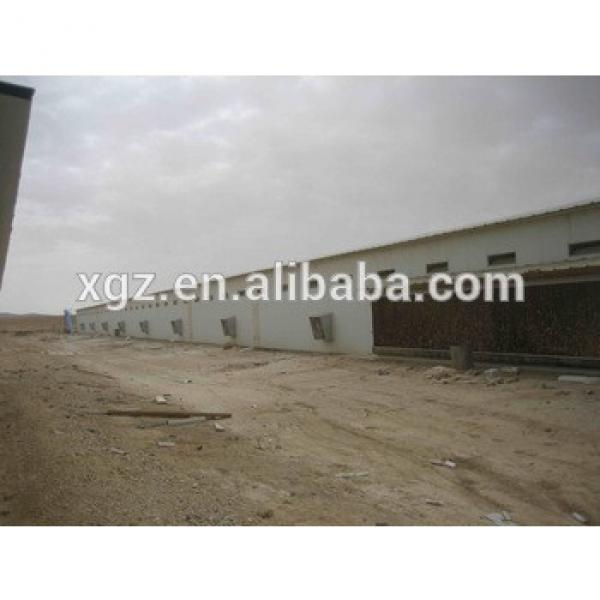 automatic feeding system chicken farm plan design steel chicken house for broiler in pakistan #1 image