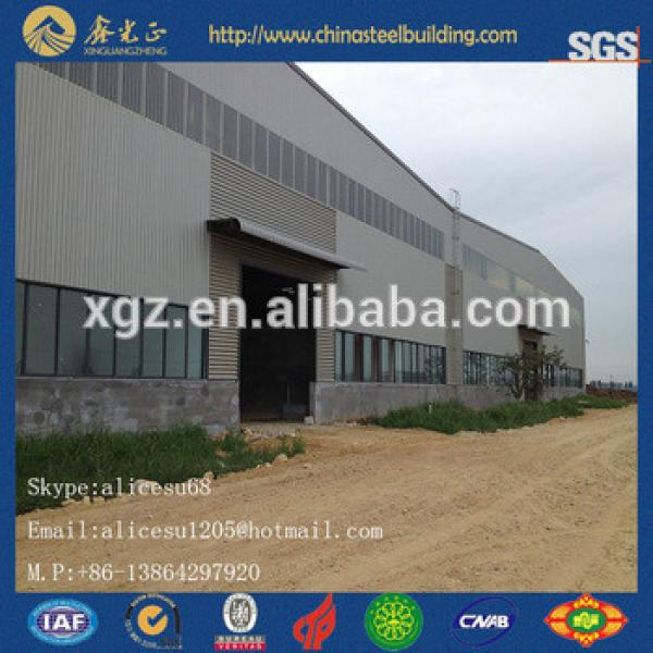 structural steel frame car showroom and exhibition hall #1 image