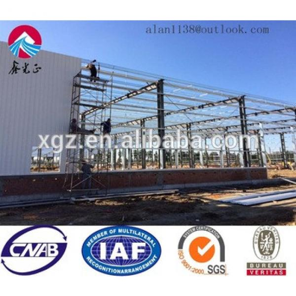 XGZ Steel Structure Warehouse Prefabricated Building #1 image