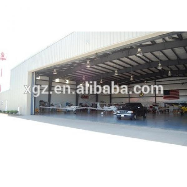 Gabon prefabricated steel structure aircraft building construction #1 image