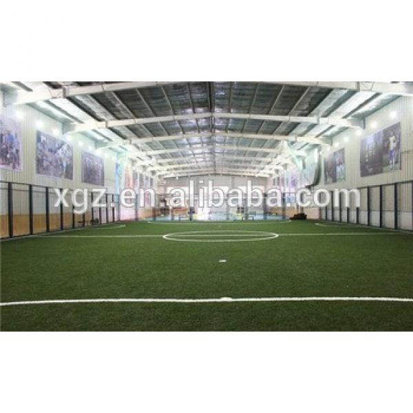 China Manufaactor Prefab Steel Structure football stadium #1 image