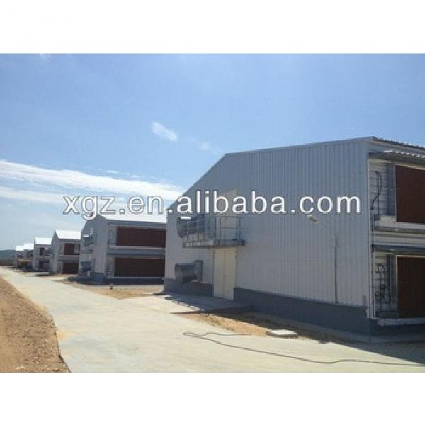 pre fabricated automatic poultry farm structure #1 image
