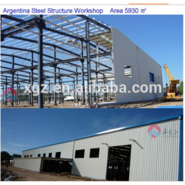 Building construction Industrial light steel structure prefab warehouse #1 image