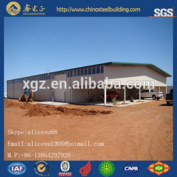 High standards low cost Sandwich Panel Steel Prefab Warehouse #1 image