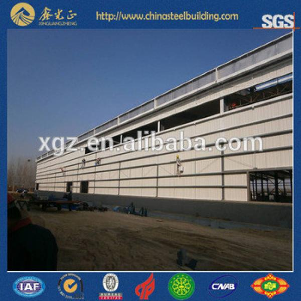 China Low Cost Steel Prefab House workshop warehouse #1 image
