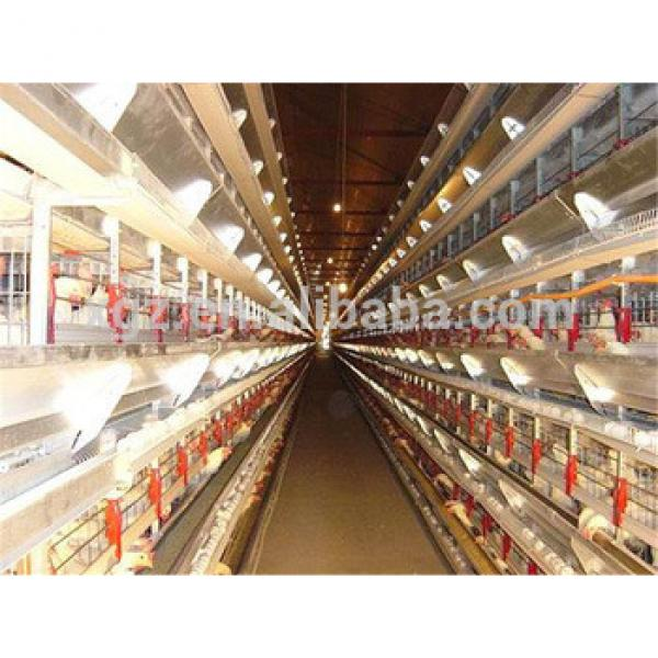 prefab full automatic chicken layer hen house #1 image
