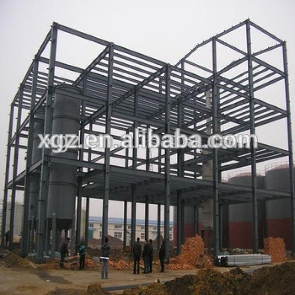 Steel frame multi story prefabricated hotel building design&manufacture&installation #1 image