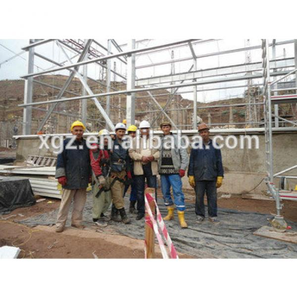 pre-engineering galvanized Steel structure for Building/warehouse/workshop from China XGZ #1 image