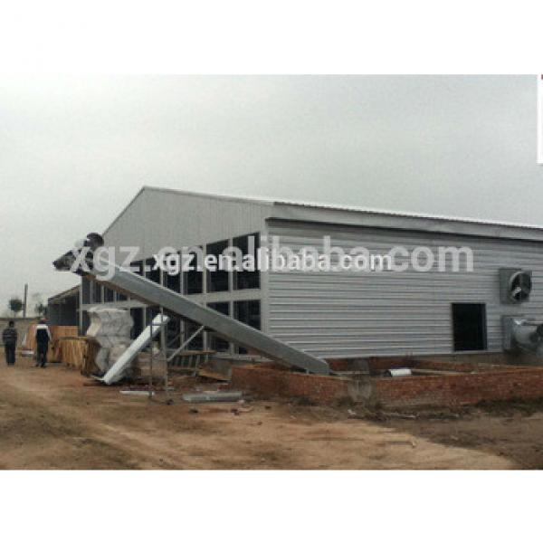 cheap china Steel Structural Egg Chicken Shed Farming Building #1 image
