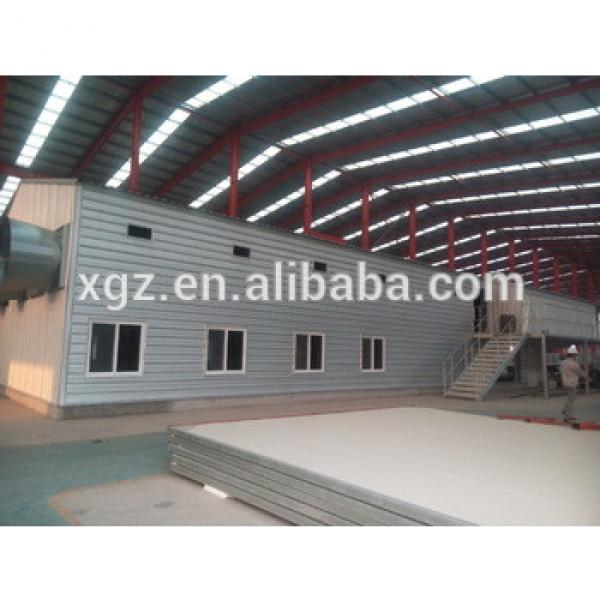 Light Frame manufacture Warehouse Prefabricated Metal Shed Storage Buildings #1 image