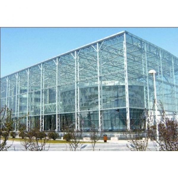 Prefabricated steel structure shop building design&manufacture&installation #1 image