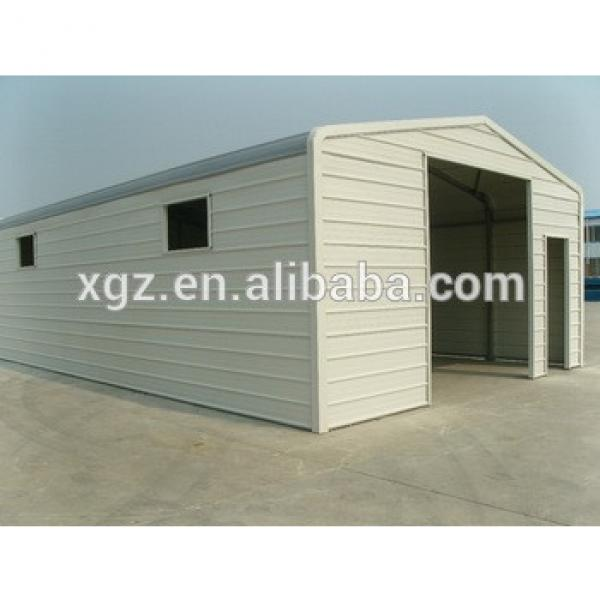 High Quality Prefab Low Cost Light Steel Garage Building Kit design #1 image