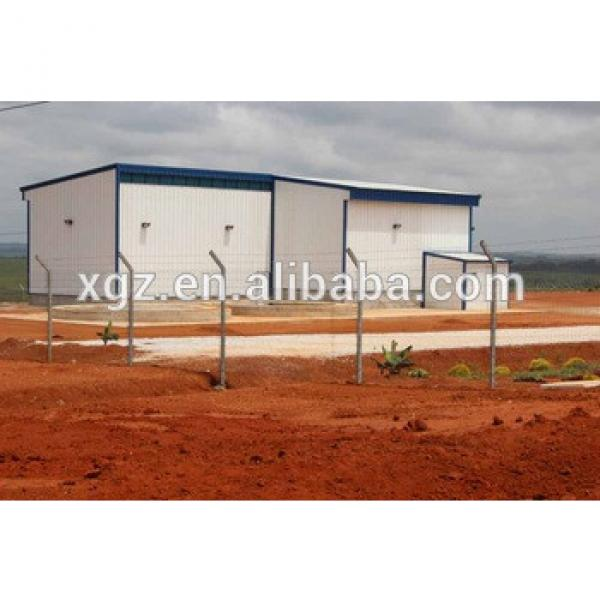 cheap light steel structure feed storage warehouse building #1 image