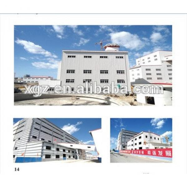 Prefabricated Steel Frame Apartment and office Building #1 image
