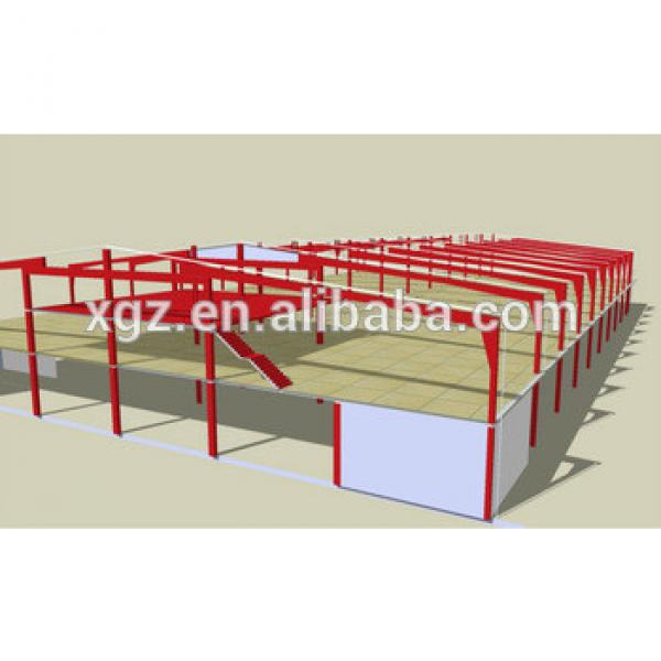 Prefabricated warehouse steel structure design&manufacture&installation #1 image