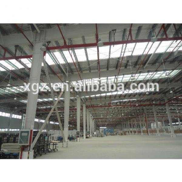 prefabricated Construction Steel Workshop Plan #1 image