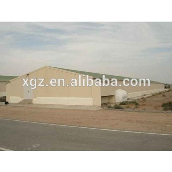 automatic equipment prefab chicken farm steel poultry shed house for sale #1 image