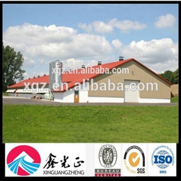 Steel Structure Design Farm Shelter Poultry Farm Construction #1 image