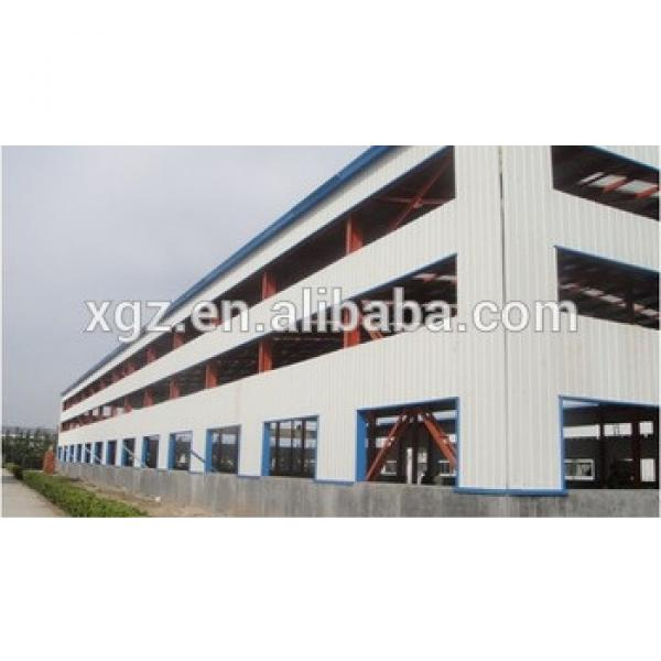 Prefabricated Steel Warehouse Iron Building From China #1 image