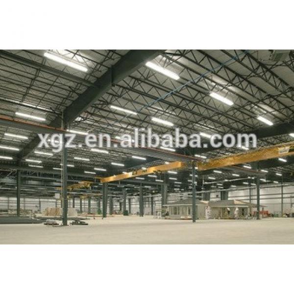 cheap steel workshop building/ large span steel frame structure warehouse/workshop steel structure drawing #1 image
