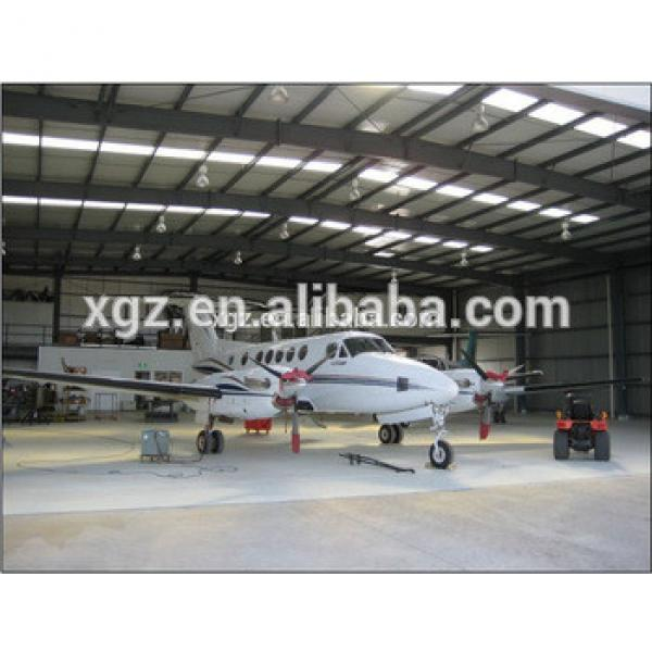 modern design aircraft hangar warehouse building #1 image