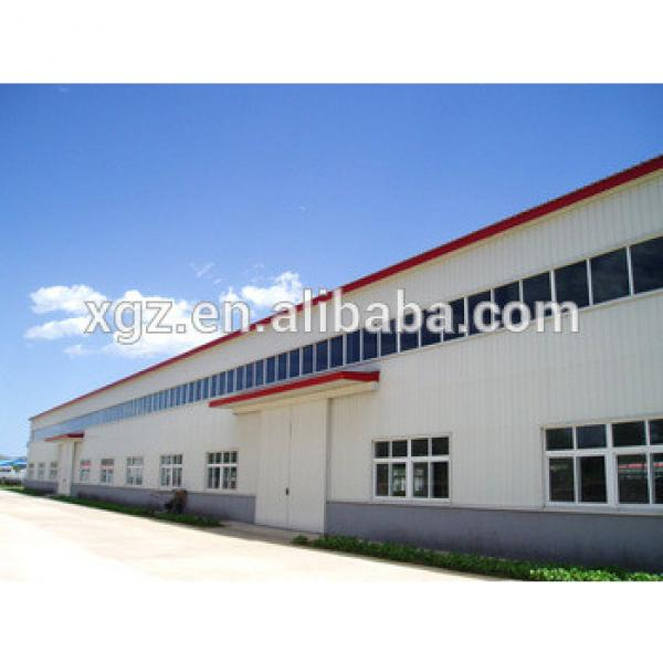 low cost steel structure building warehouse/workshop #1 image
