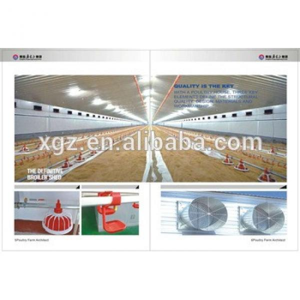 Professional high quality good poultry house design #1 image