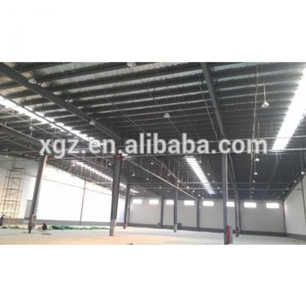 Large Span Prefabricated Workshop /Warehouse Steel Structure Building #1 image