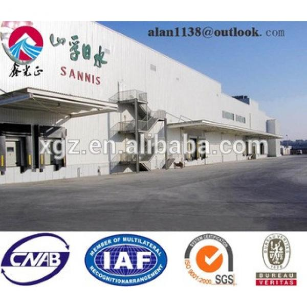 Light Prefabricated Structural Construction Steel Workshop #1 image