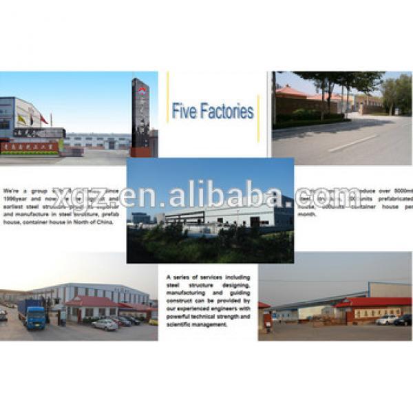Steel Structure prefab House/Villa/Warehouse/Workshop/Commercial Center #1 image