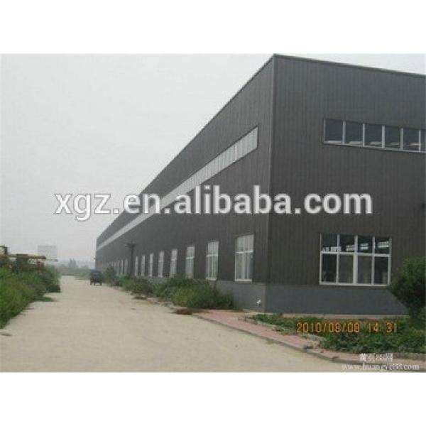 High quality low cost prefab steel warehouse #1 image