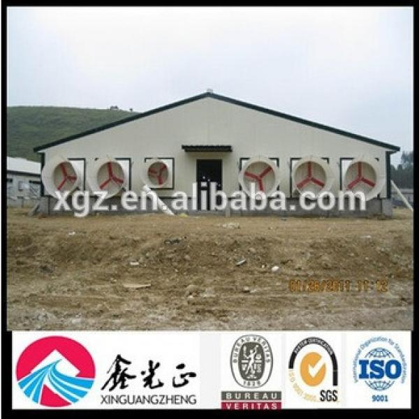 Controlled Broiler Poultry Farm Shed Design #1 image