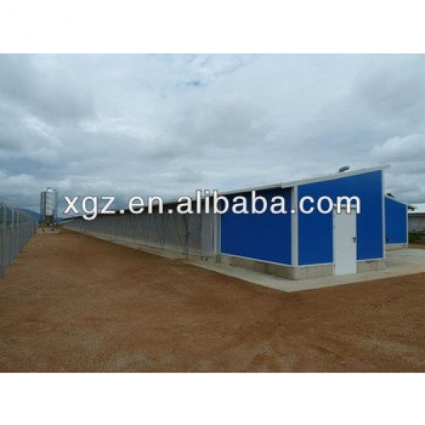 prefab chicken poultry farm shed #1 image