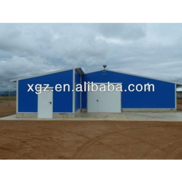 prefab poultry farm chicken house structure #1 image
