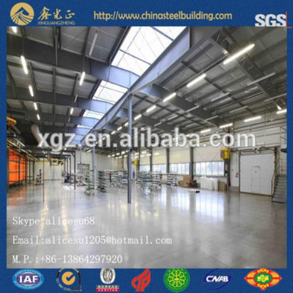China Steel structure prefabricated workshop/warehouse/building #1 image