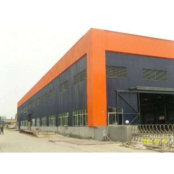 Economy Light Steel Structure Building for Workshop/ Warehouse/Villa/Prefabricated House #1 image
