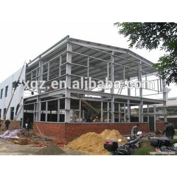 Pre-fabricated warehouse steel factory shed design in Pakistan #1 image