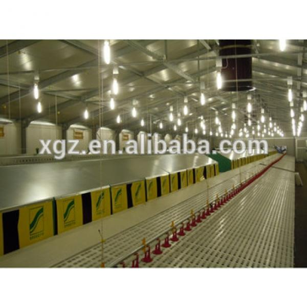 Poultry house equipment design for broiler chicken meat chicken #1 image