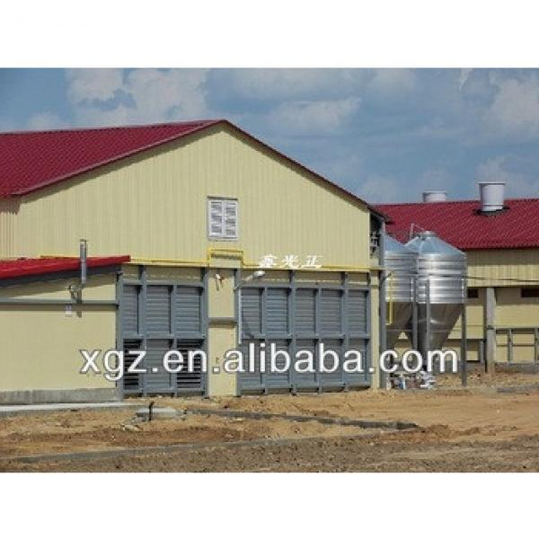 modern design chicken farm steel structure for layers with automatic equipments for sale #1 image